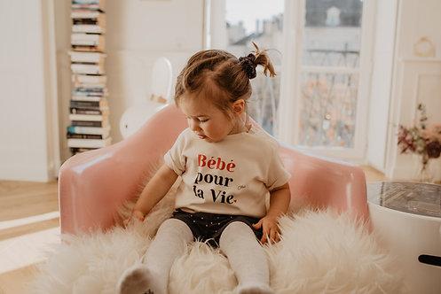 T-Shirt Bébé pour la vie