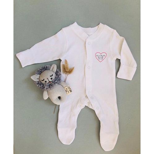 Pyjama Bébé Date personnalisables