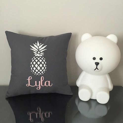 Coussin ananas (+ couleurs)