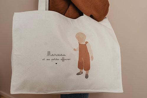 Big bag Garçon Terracota personnalisable collab Retour de plage