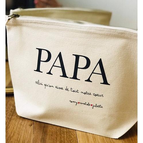 Trousse PAPA personnalisable
