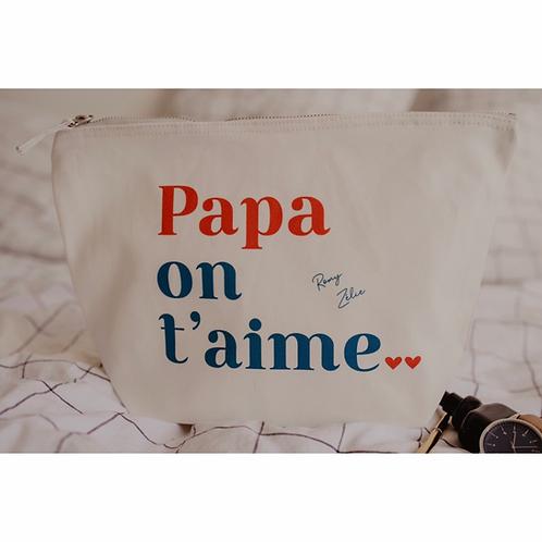 Trousse Amour PAPA personnalisable