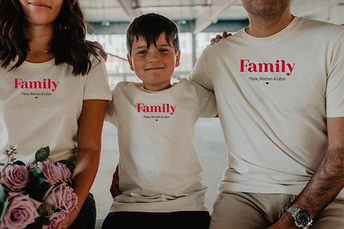 """T-shirt beige """"les jolis mots"""" homme"""