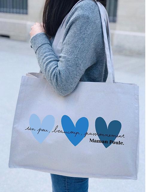 Big bag solidaire Coeurs Bleus