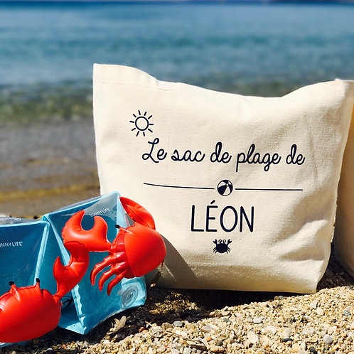 Tote bag PLUS le sac de plage
