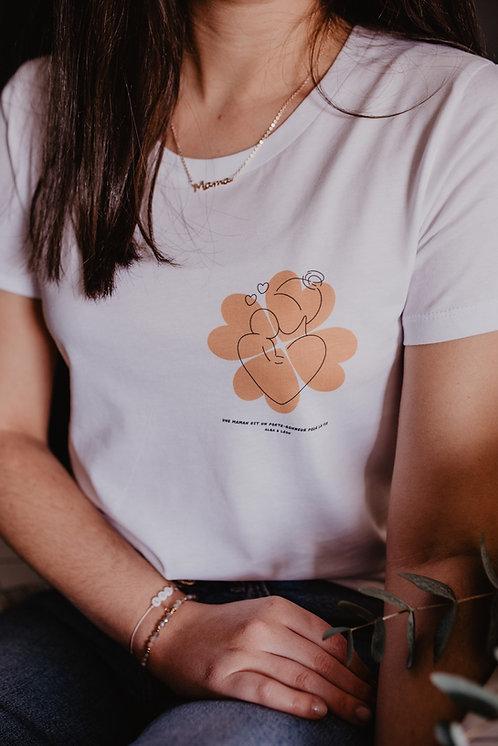 T-shirt Maman Porte-Bonheur
