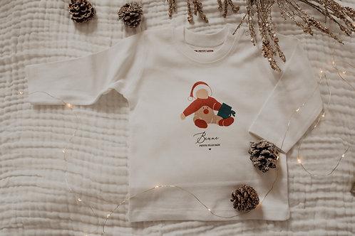 Tee-shirt de Noel Bébé