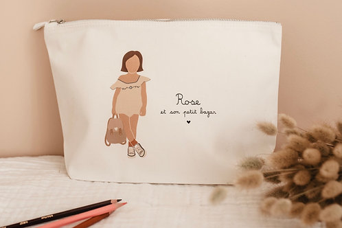 Trousse Fille Combinaison avec sac (personnalisable)