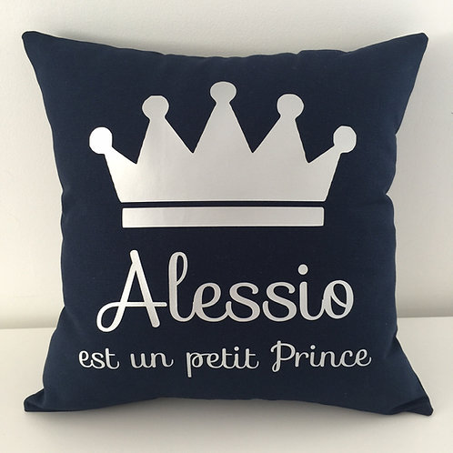 Coussin Prince (+ Couleurs)
