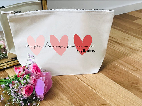 Trousse solidaire Coeurs Roses
