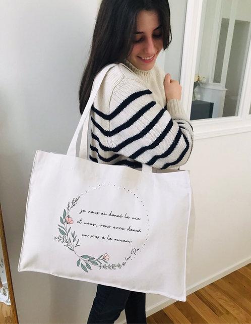 Big Bag LA VIE personnalisable