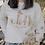 Thumbnail: Sweat-shirt blanc UNISEXE collab retour de plage