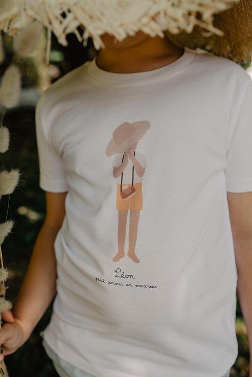 Tee-shirt Enfant collab retour de plage