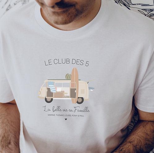 Tee-shirt Homme VAN COMBI
