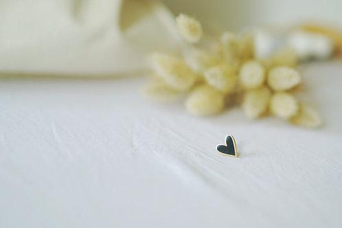 Pin's COEUR noir