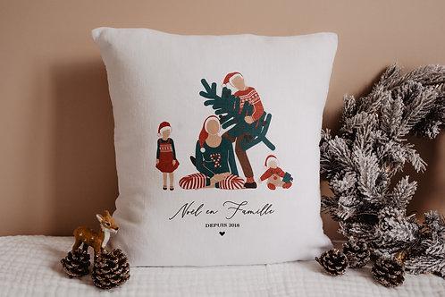 Coussin Tribu Noël