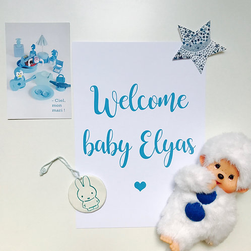 Affiche Welcome Baby
