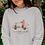 Thumbnail: Sweat shirt Blanc Unisexe VAN COMBI