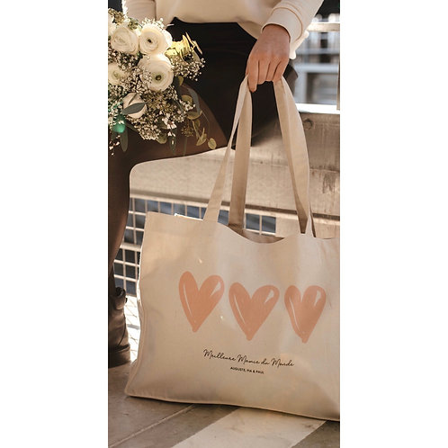 Big bag COEUR personnalisable