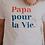 Thumbnail: T-Shirt Papa pour la vie