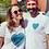 Thumbnail: T-shirt femme l'amour ne se divise pas