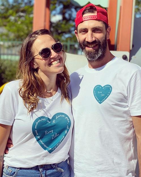 T-shirt femme l'amour ne se divise pas