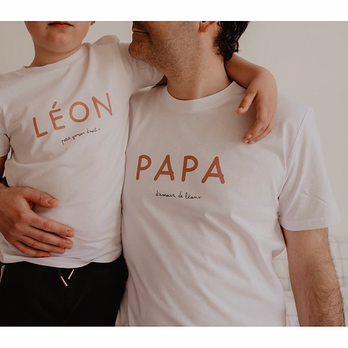T-Shirt Papa + Phrase