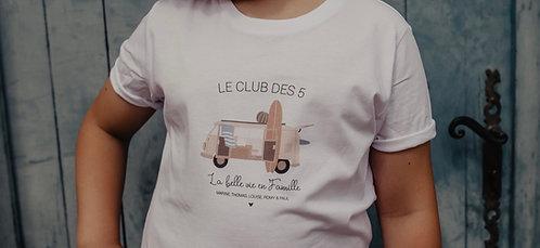 Tee-shirt Enfant ou Bébé VAN COMBI