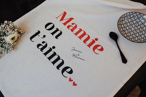 Torchon Mamie personnalisable