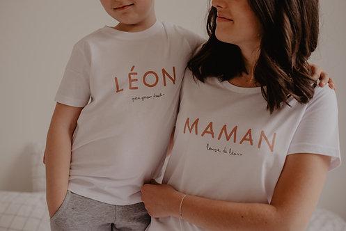 T-Shirt Maman + Phrase