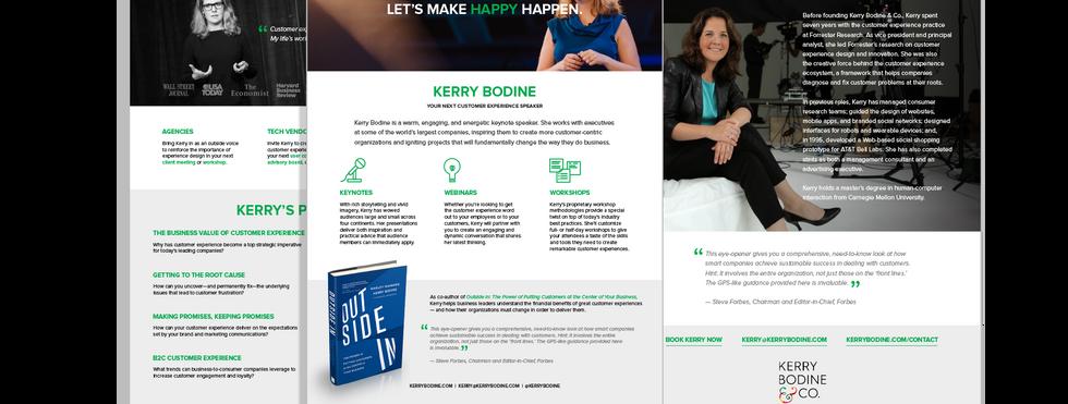 Kerry Bodine Speaking Kit