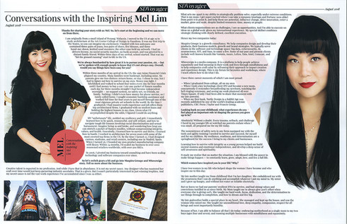 08.06.18   SD Voyager - Interview with the Inspiring Mel Lim