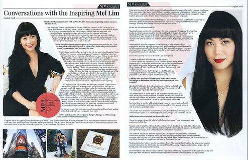 08.06.18 | SD Voyager - Interview with the Inspiring Mel Lim