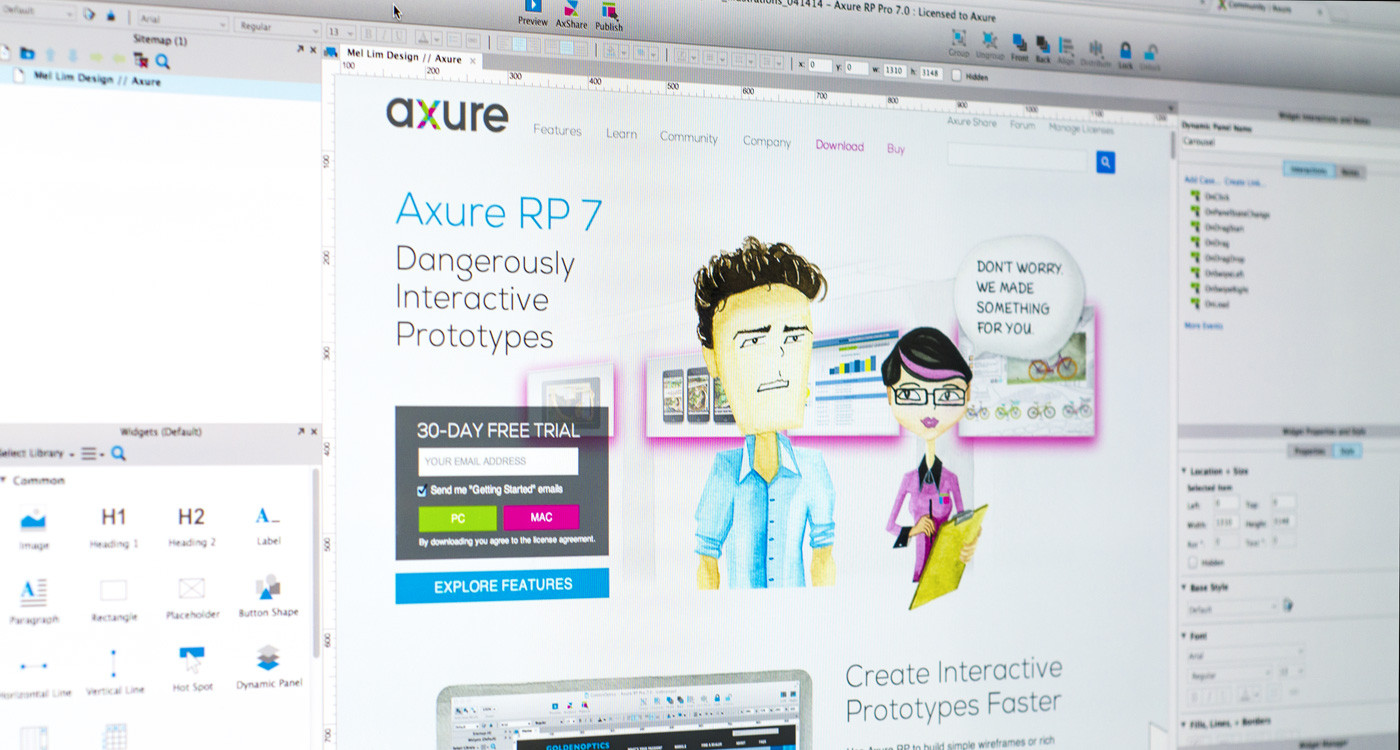Axure RP 7