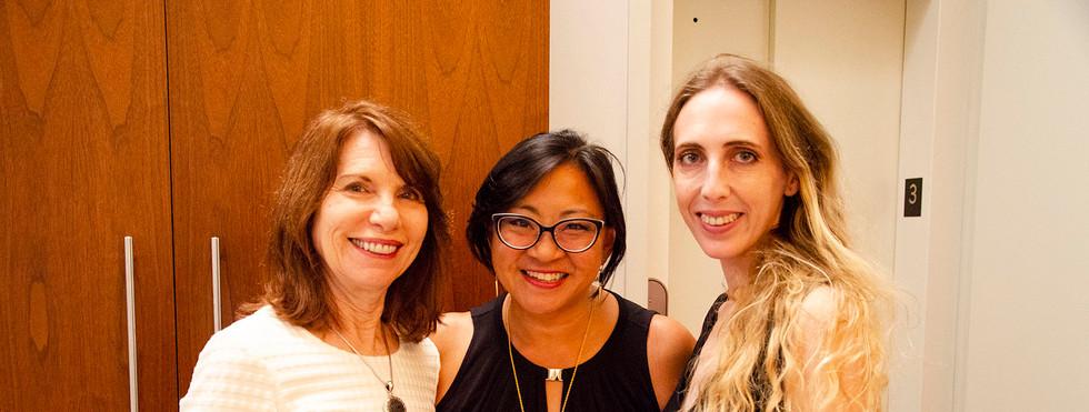 Barbara Shelly, Angela Yeh, and Elizabeth Elizabeth Uhrmacher