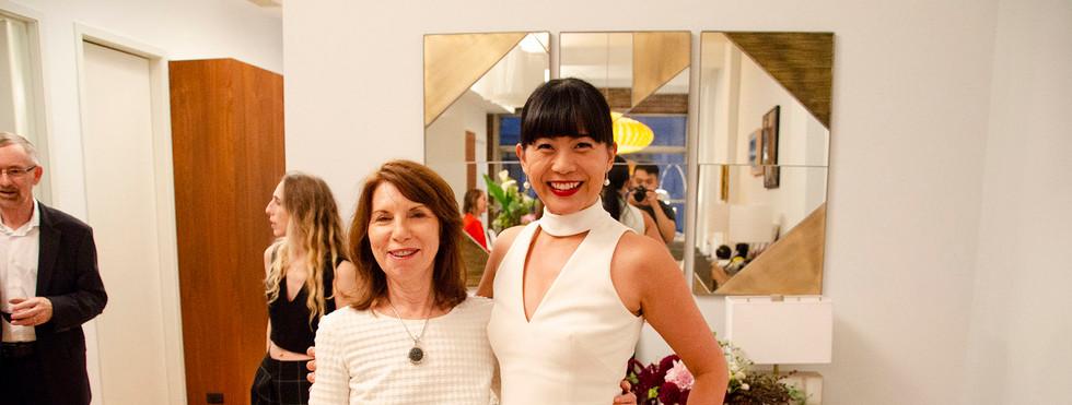 Barbara Shelly and Mel Lim