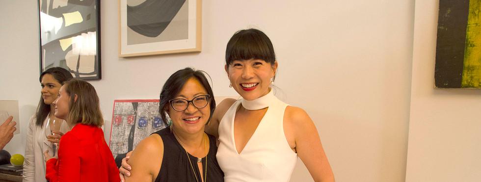 Angela Yeh and Mel Lim