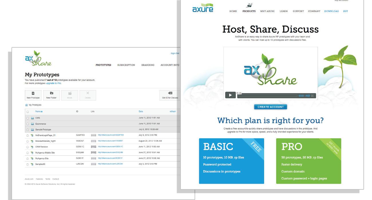 AxShare UI
