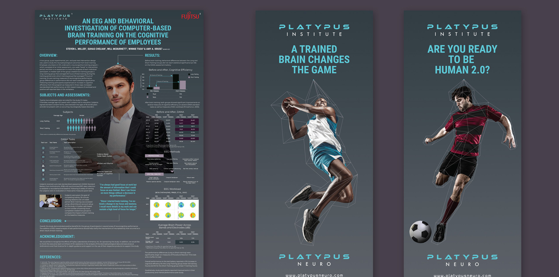 PlatypusNeuro   Tradeshow Poster & Banners