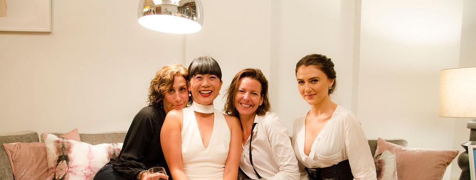 Debbie Gibb, Mel Lim, Jen Messina, and Zlata Sushchik