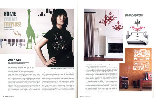 Winters 2008   Interiors Magazine