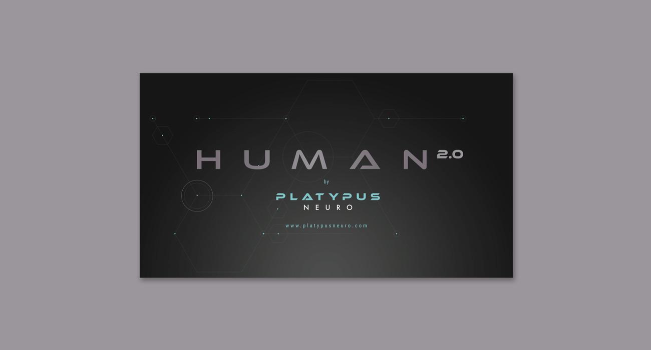 PlatypusNeuro | Human 2.0 Logo