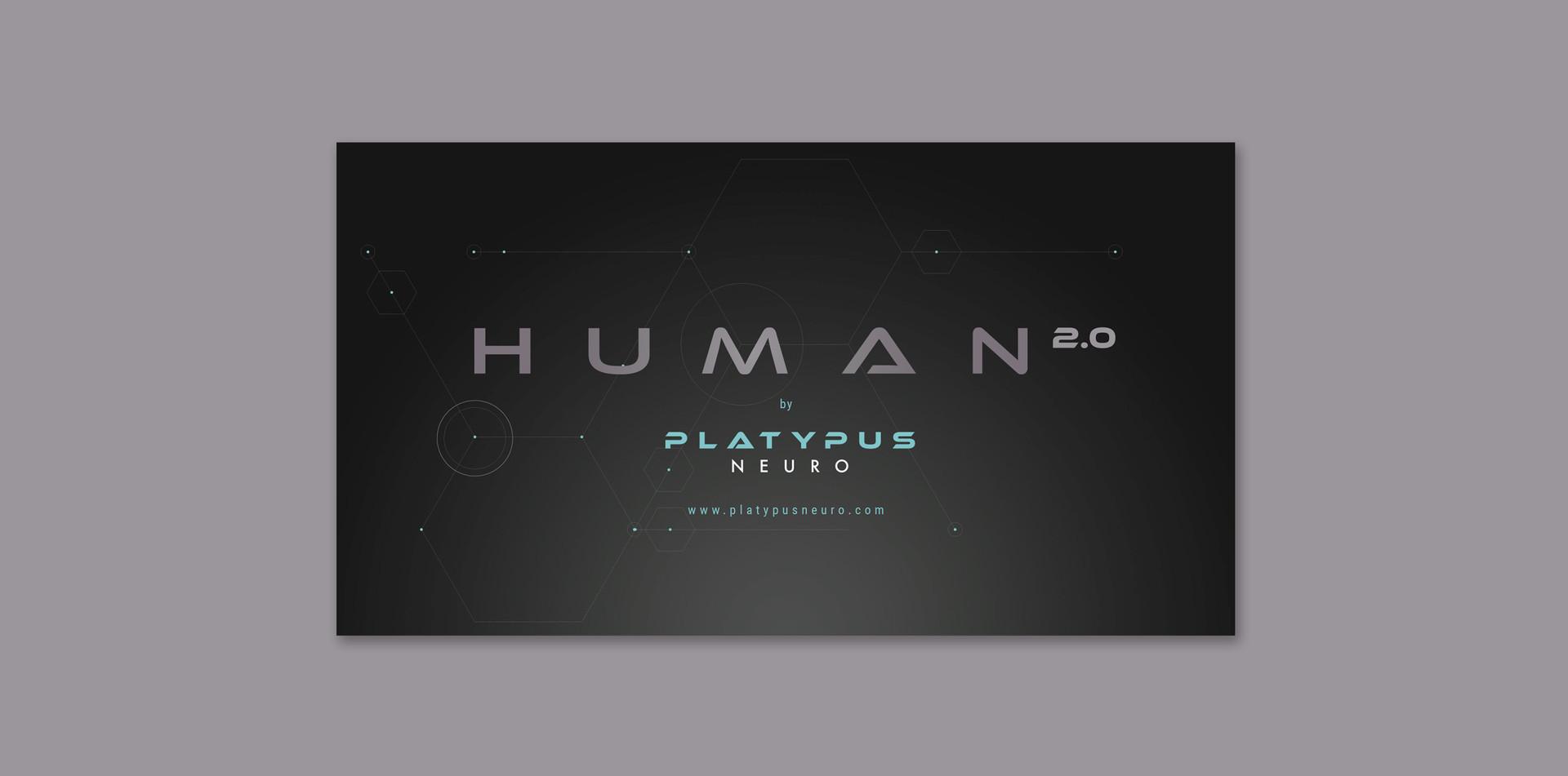 PlatypusNeuro   Human 2.0 Logo