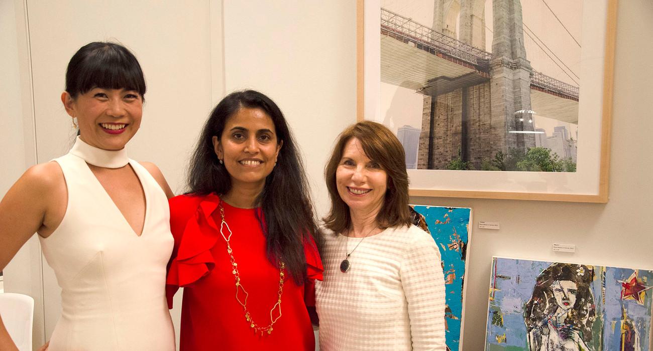 Mel Lim, Ginger Dhaliwal, and Barbara Shelly
