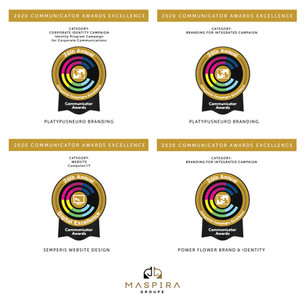 Maspira Groupe snagged four (4) 2020 Communicator Awards Excellence