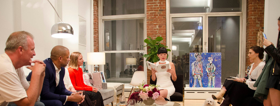 Mel Lim NYC Book Launch Party