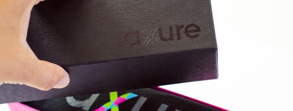 Axure Tee & Box Packaging