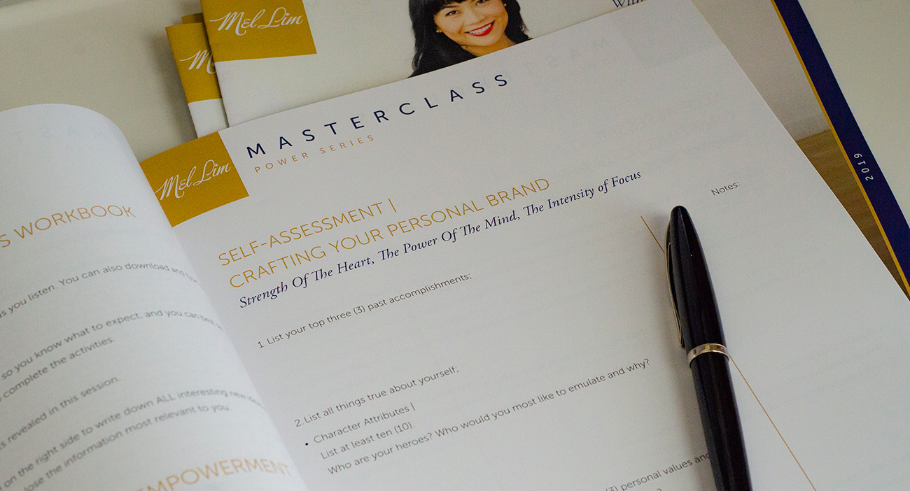 Masterclass with Mel Lim | Power Series Workbook