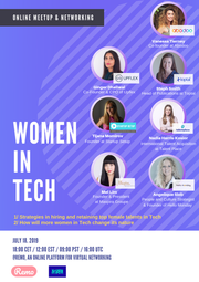 Mel Lim Panel Speaker at Women In Tech