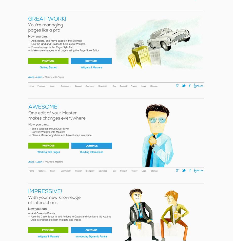 Axure Website